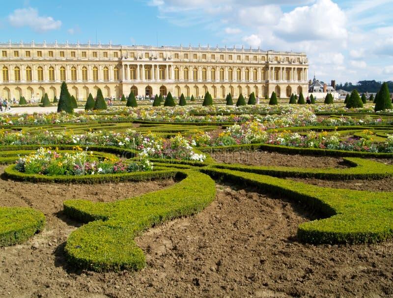 κάστρο Βερσαλλίες στοκ εικόνα με δικαίωμα ελεύθερης χρήσης