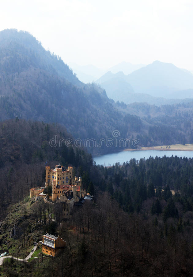 κάστρο Γερμανία στοκ εικόνες