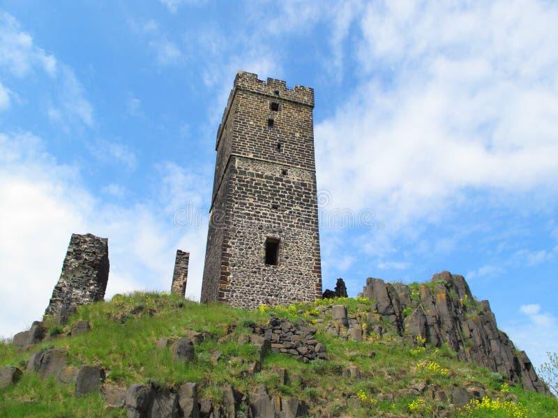 κάστρο γοτθικό στοκ φωτογραφία