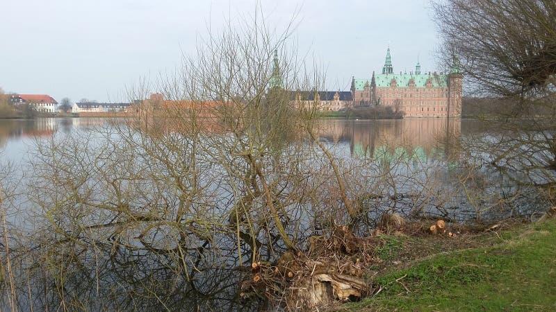κάστρο Δανία Frederiksborg στοκ φωτογραφία