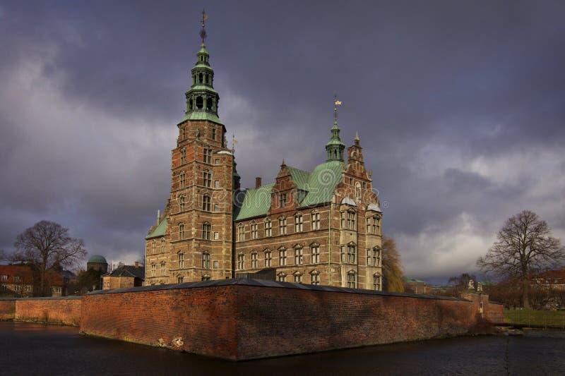 κάστρο Δανία rosenborg στοκ εικόνες