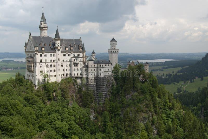 κάστρο διάσημη Γερμανία neuschwanstein στοκ εικόνες με δικαίωμα ελεύθερης χρήσης