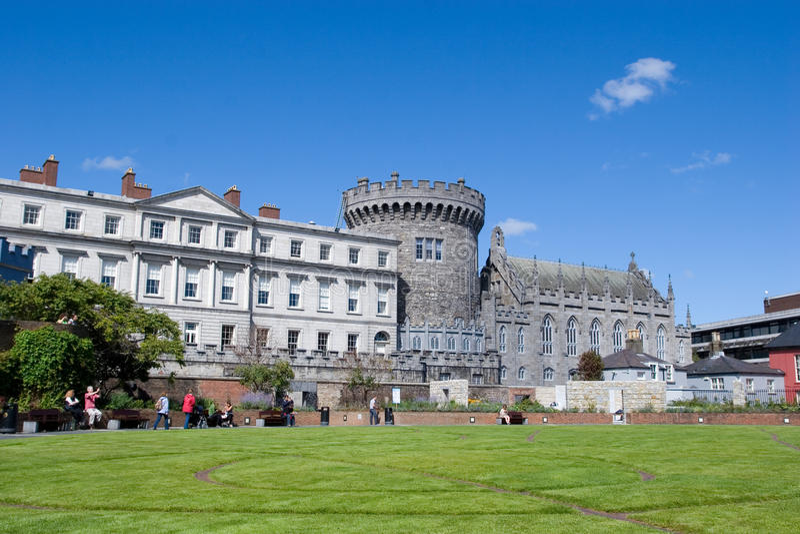 κάστρο Δουβλίνο στοκ εικόνα