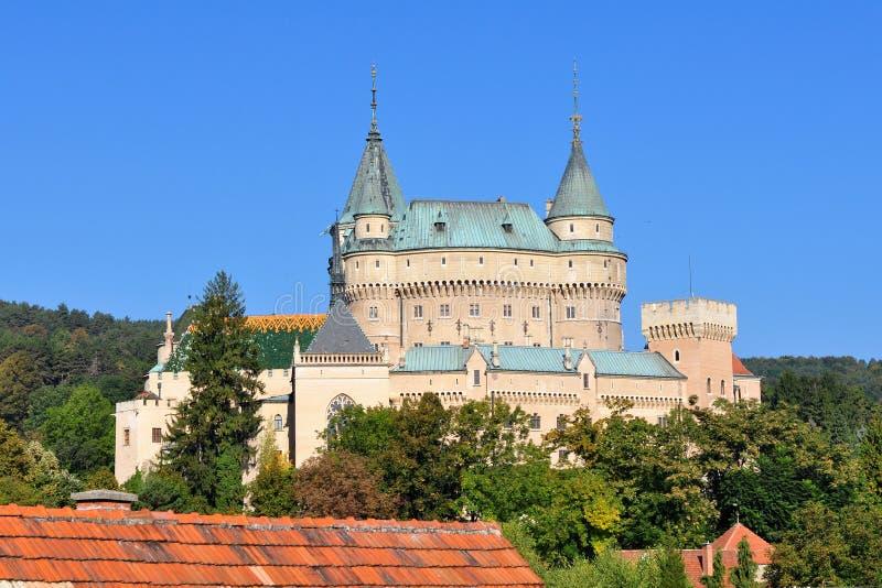 κάστρο θαυμάσια Σλοβακί& στοκ φωτογραφίες