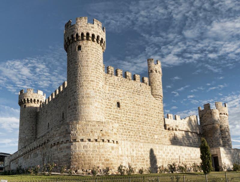 κάστρο ισπανικά στοκ φωτογραφίες