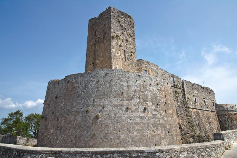 κάστρο Ιταλία monte Πούλια του Angelo sant στοκ φωτογραφία με δικαίωμα ελεύθερης χρήσης