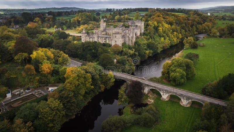 Κάστρο και κήποι Lismore Κομητεία Waterford Ιρλανδία στοκ φωτογραφία με δικαίωμα ελεύθερης χρήσης