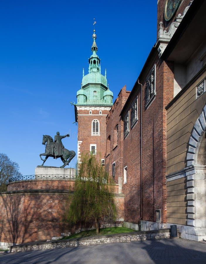 κάστρο Κρακοβία wawel στοκ εικόνες