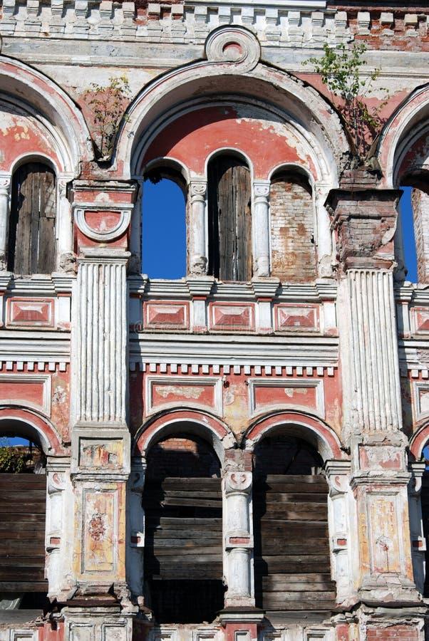 κάστρο μαυριτανικό Αρχιτεκτονική της πόλης του Rybinsk, Ρωσία στοκ φωτογραφία με δικαίωμα ελεύθερης χρήσης