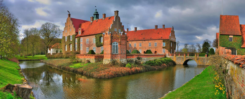 κάστρο μικρά σουηδικά στοκ εικόνες
