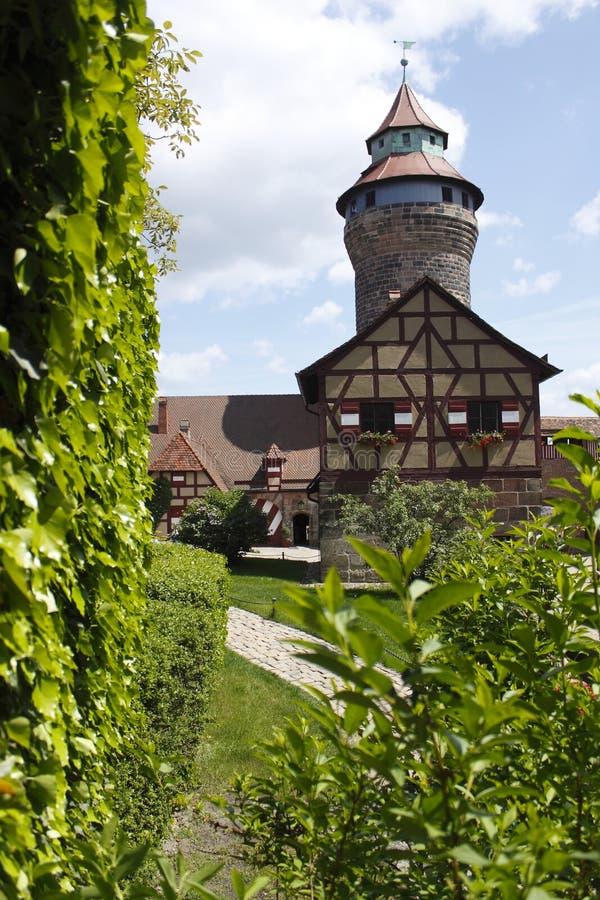 κάστρο Νυρεμβέργη στοκ εικόνα με δικαίωμα ελεύθερης χρήσης
