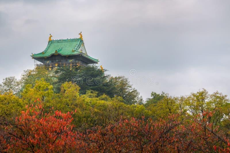 κάστρο Οζάκα φθινοπώρου στοκ φωτογραφίες με δικαίωμα ελεύθερης χρήσης