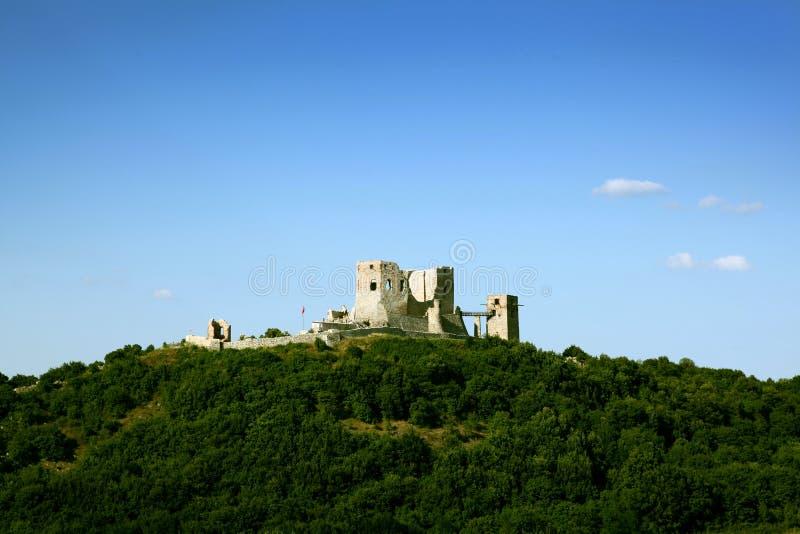 κάστρο παλαιό πολύ Visegrad στοκ εικόνα