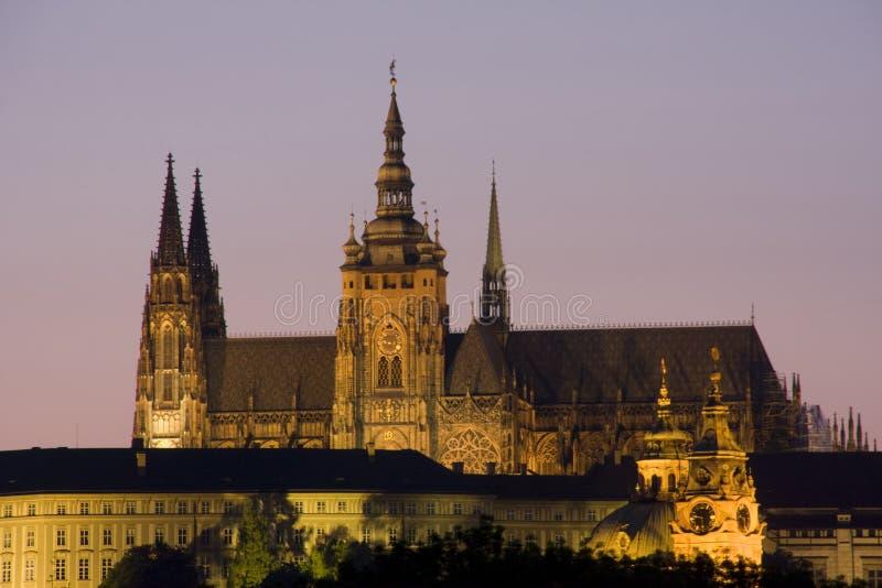 κάστρο Πράγα στοκ εικόνες