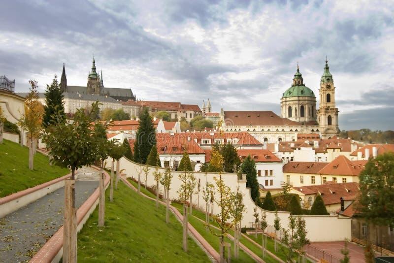 κάστρο Πράγα στοκ φωτογραφία