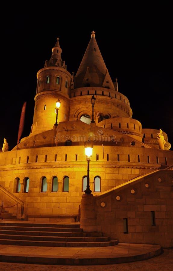 Κάστρο προμαχώνων Fishermans, Βουδαπέστη στοκ εικόνες