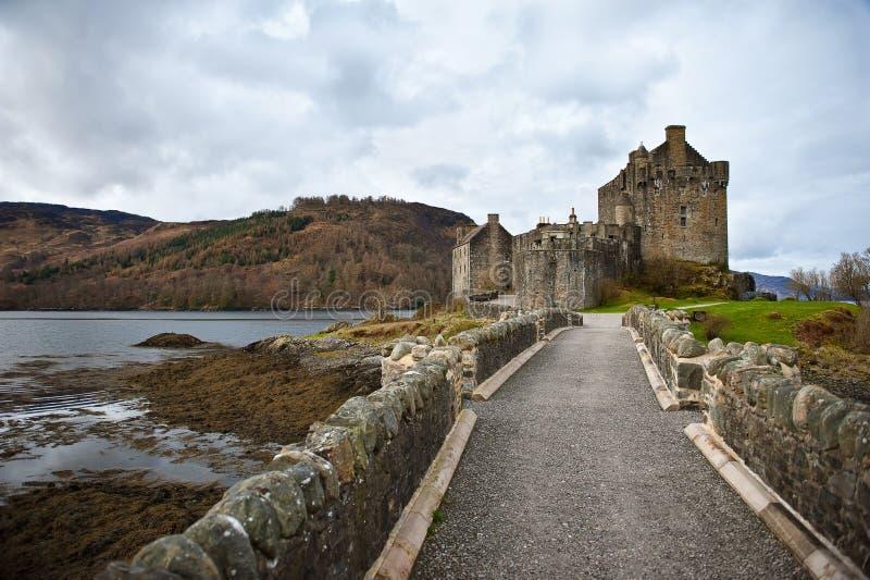 κάστρο σκωτσέζικα στοκ εικόνα με δικαίωμα ελεύθερης χρήσης