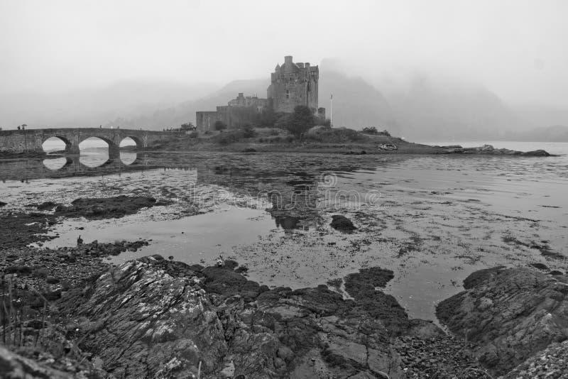 κάστρο σκωτσέζικα στοκ φωτογραφίες