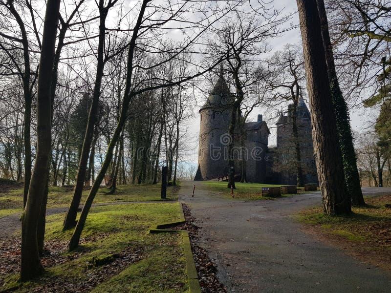 Κάστρο της Ουαλίας το χειμώνα στοκ φωτογραφία με δικαίωμα ελεύθερης χρήσης