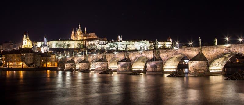 Κάστρο της Πράγας στοκ φωτογραφία