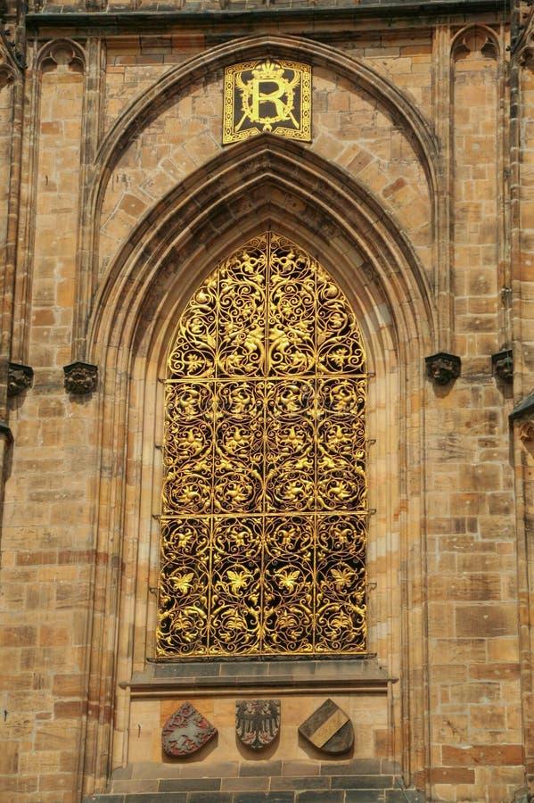 Κάστρο της Πράγας ` s, στοκ εικόνα