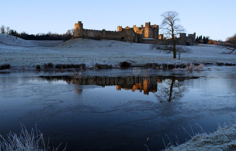 κάστρο του Άλνγουίκ στοκ εικόνες
