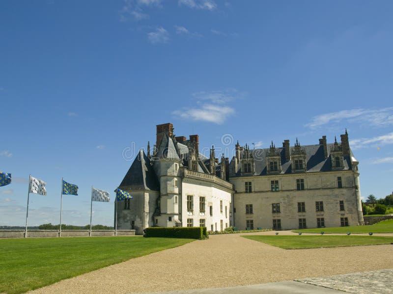 κάστρο του Amboise στοκ εικόνες