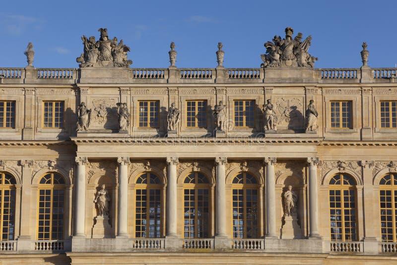 Κάστρο των Βερσαλλιών στοκ φωτογραφίες με δικαίωμα ελεύθερης χρήσης