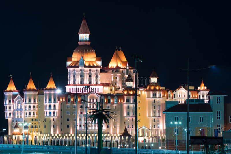 Κάστρο φαντασίας στοκ φωτογραφία