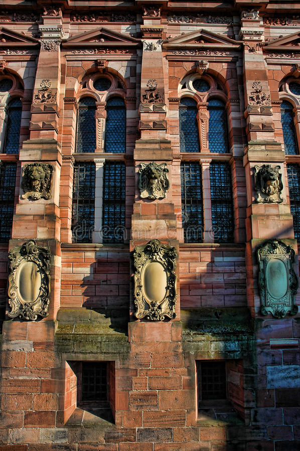 κάστρο Χαϋδελβέργη στοκ φωτογραφίες
