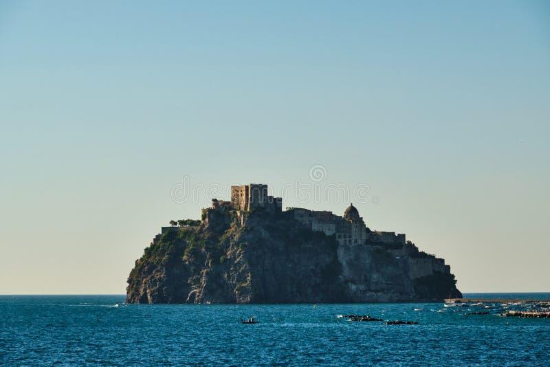 Κάστρο Aragonese - ισχία στοκ εικόνες με δικαίωμα ελεύθερης χρήσης