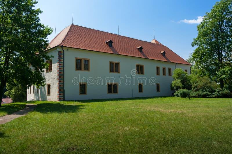Κάστρο Blansko αναγέννησης στοκ εικόνες