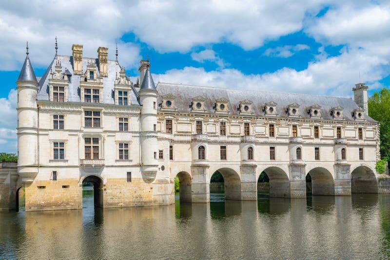 Κάστρο Chenonceau, Γαλλία στοκ εικόνες με δικαίωμα ελεύθερης χρήσης