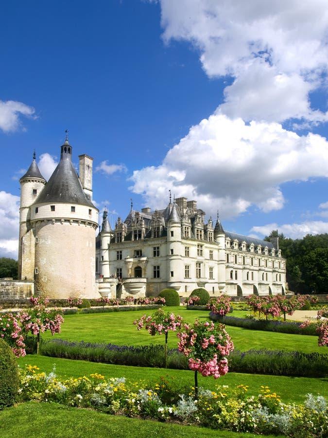 κάστρο chenonceaux στοκ φωτογραφίες