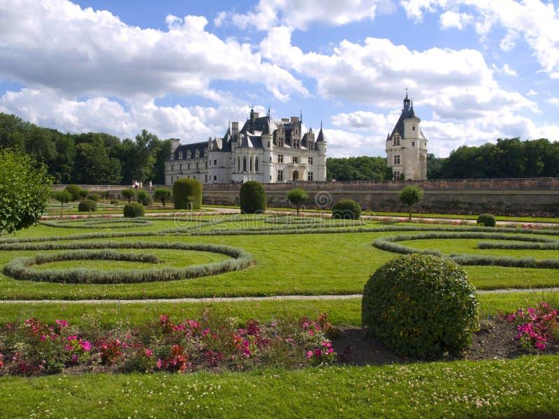 κάστρο chenonceaux στοκ φωτογραφία