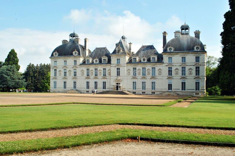 κάστρο cheverny στοκ εικόνες