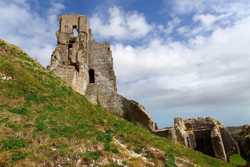 κάστρο corfe στοκ φωτογραφίες