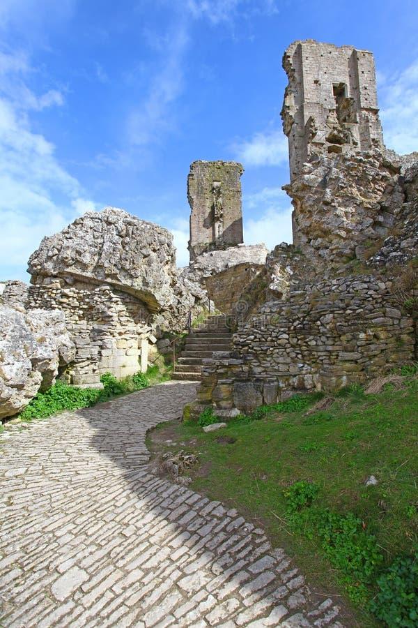 κάστρο corfe στοκ φωτογραφία με δικαίωμα ελεύθερης χρήσης