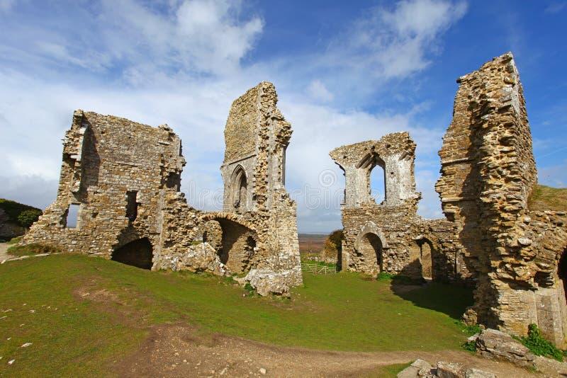 κάστρο corfe στοκ φωτογραφίες με δικαίωμα ελεύθερης χρήσης