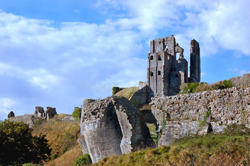 κάστρο corfe στοκ εικόνες με δικαίωμα ελεύθερης χρήσης