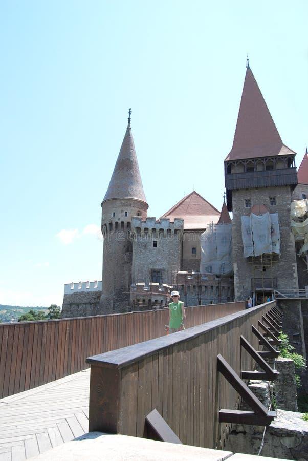 Κάστρο Corvin στοκ φωτογραφία