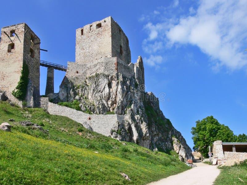 κάστρο csesznek στοκ εικόνες