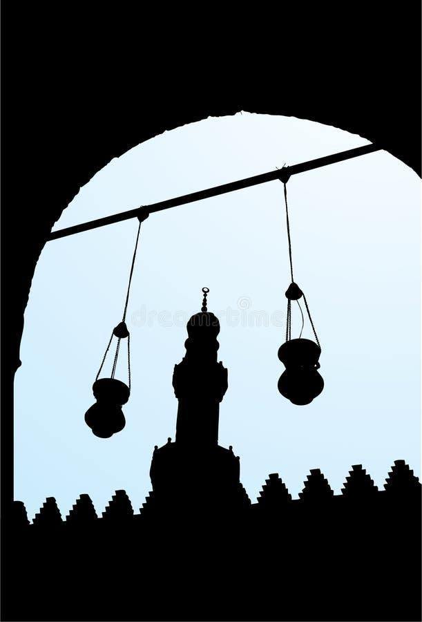 κάστρο DIN EL salah διανυσματική απεικόνιση