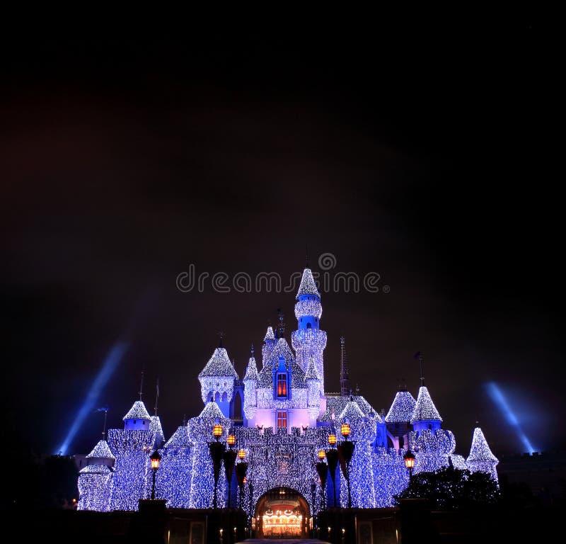 Κάστρο Disneyland στοκ φωτογραφία με δικαίωμα ελεύθερης χρήσης