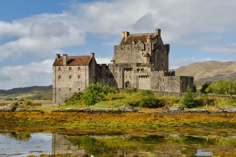 Κάστρο Donan Eilean σε Dornie, Σκωτία στοκ εικόνες