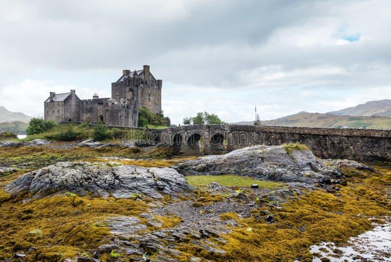 Κάστρο Donan Eilean σε Dornie, Σκωτία στοκ φωτογραφίες με δικαίωμα ελεύθερης χρήσης