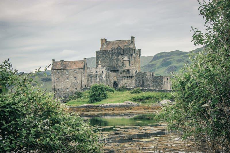κάστρο donan eilean Σκωτία στοκ φωτογραφίες με δικαίωμα ελεύθερης χρήσης