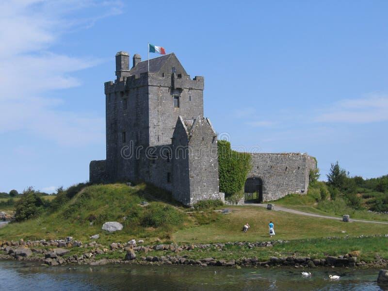 κάστρο dunguaire στοκ εικόνες