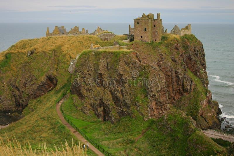 κάστρο dunnotar Σκωτία στοκ εικόνες με δικαίωμα ελεύθερης χρήσης