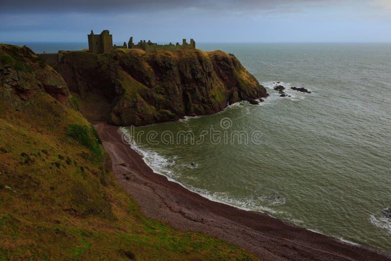 κάστρο dunnottar στοκ φωτογραφίες
